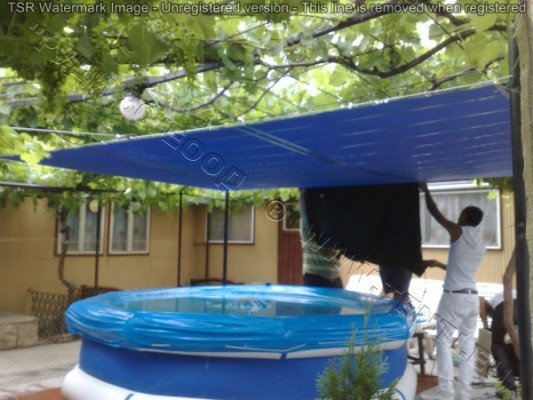 Covers for swimming pools,